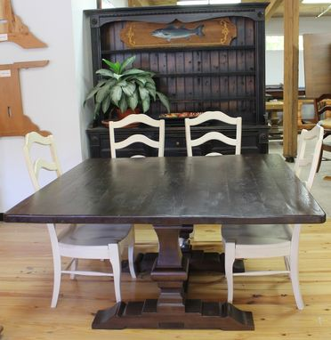 Custom Rustic Square Dining Table By Ecustomfinishes