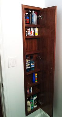 Custom Made Custom Built-In Cabinet
