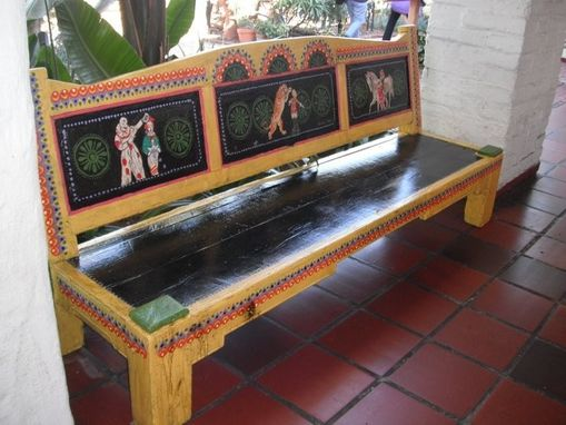 Custom Made Vintage Circus Bench
