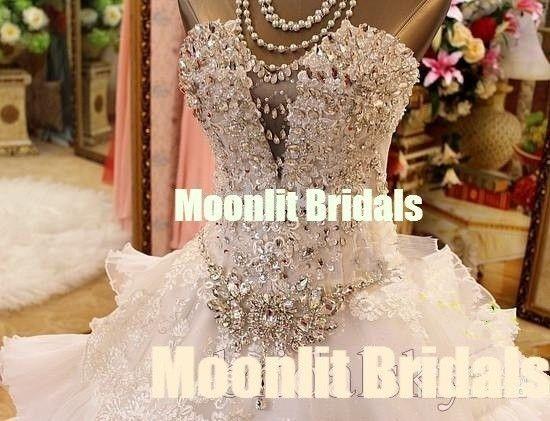 Custom Made Barri Bridal Gown Wedding Dress