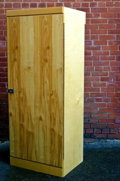 Hand Crafted Freestanding Wardrobe Chifferobe Closet By