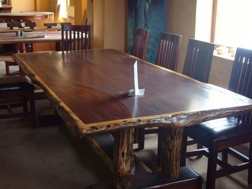 Custom Made Dining Table Set 10 Seat Ironwood