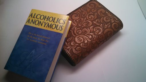 Custom Made Aa Leather Big Book Cover