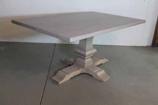 Custom Made Oak Driftwood Farm Table