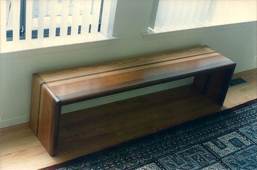 Custom Made Combined Wood Bench