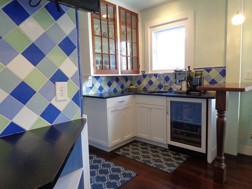 Custom Made Painted Transitional Kitchen