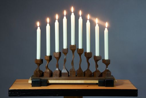 Custom Made Menorah