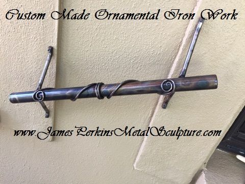 Custom Made Hand Forged Handrails, Railing And Gates