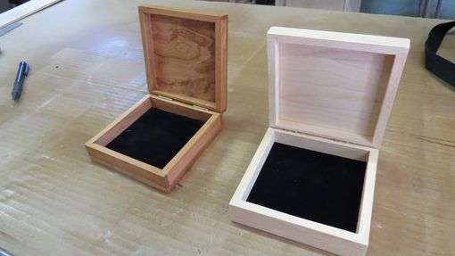 Custom Made Small Wooden Bracelet Box