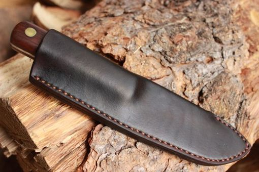 Custom Made Mountain Bushcraft Frontier Knife Hunting Skinning Woods Craft Williams Built Blades