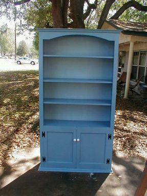 Custom Made Custom Bookcase