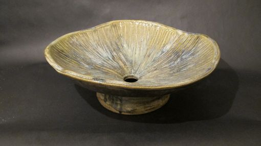Custom Made Pottery Sink Vessel