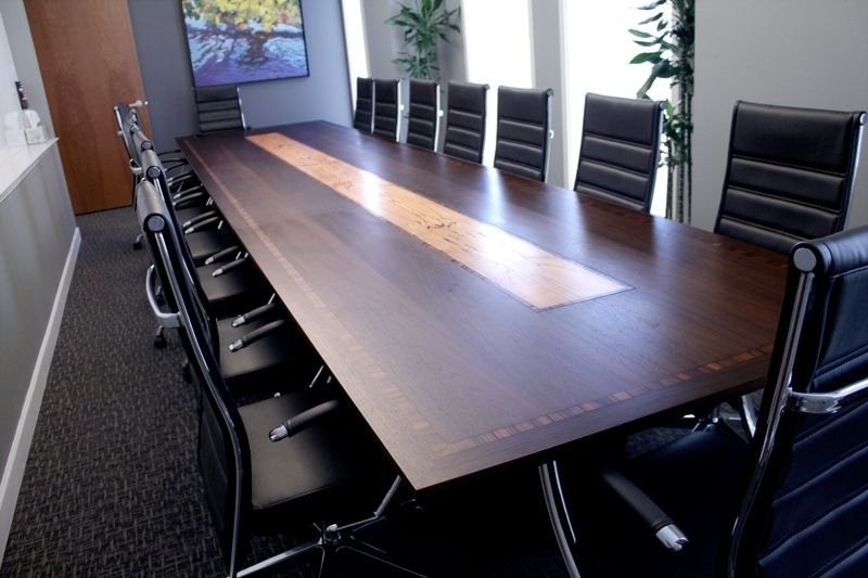 Custom Made Long Conference Table By Syd CustomMadecom - 18 foot conference table