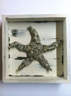 Custom Made Shadow Box Starfish