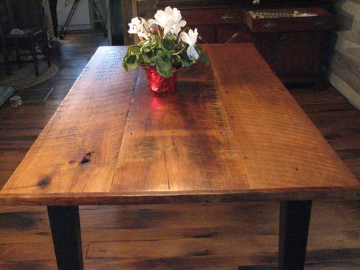 Custom Made Reclaimed Oak Tables