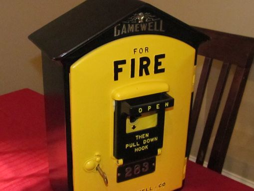 Custom Made Restored Fire Box
