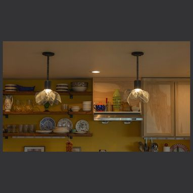 Custom Made Industrial Kitchen Pendants