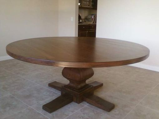Custom Made Pedestal Table
