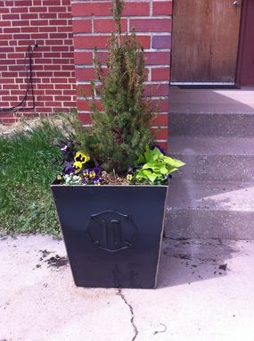 Custom Made Steel Planter