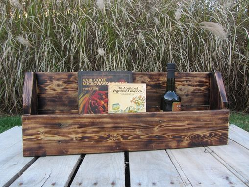 Custom Made Bookshelf Or Wine Rack Made From Reclaimed Wood Pallets