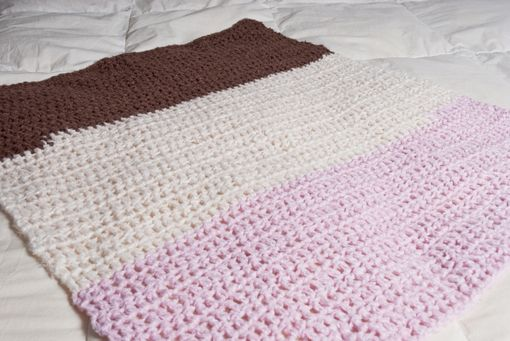Custom Made Neapolitan Baby Bamboo Blanket