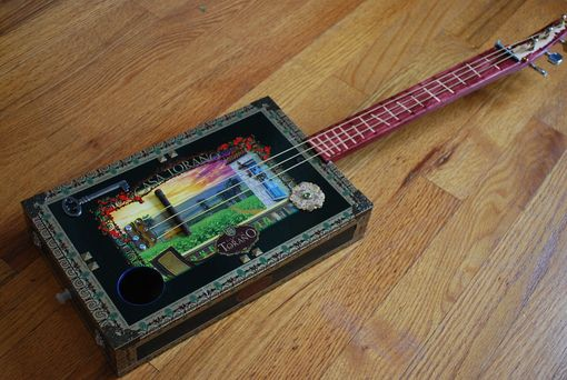 Custom Made Cigar Box Guitar