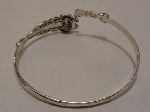 Custom Made Sterling Silver Silverware Bracelet Unisex