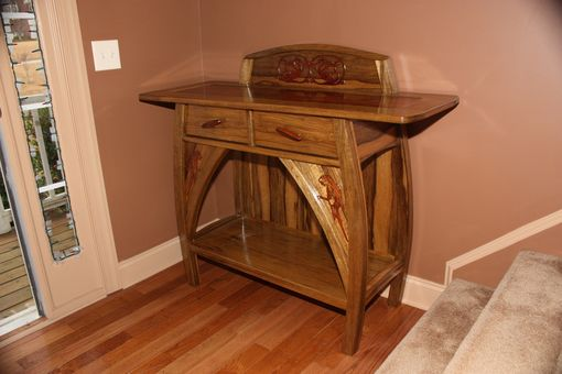 Custom Made Custom Designed Foyer Table