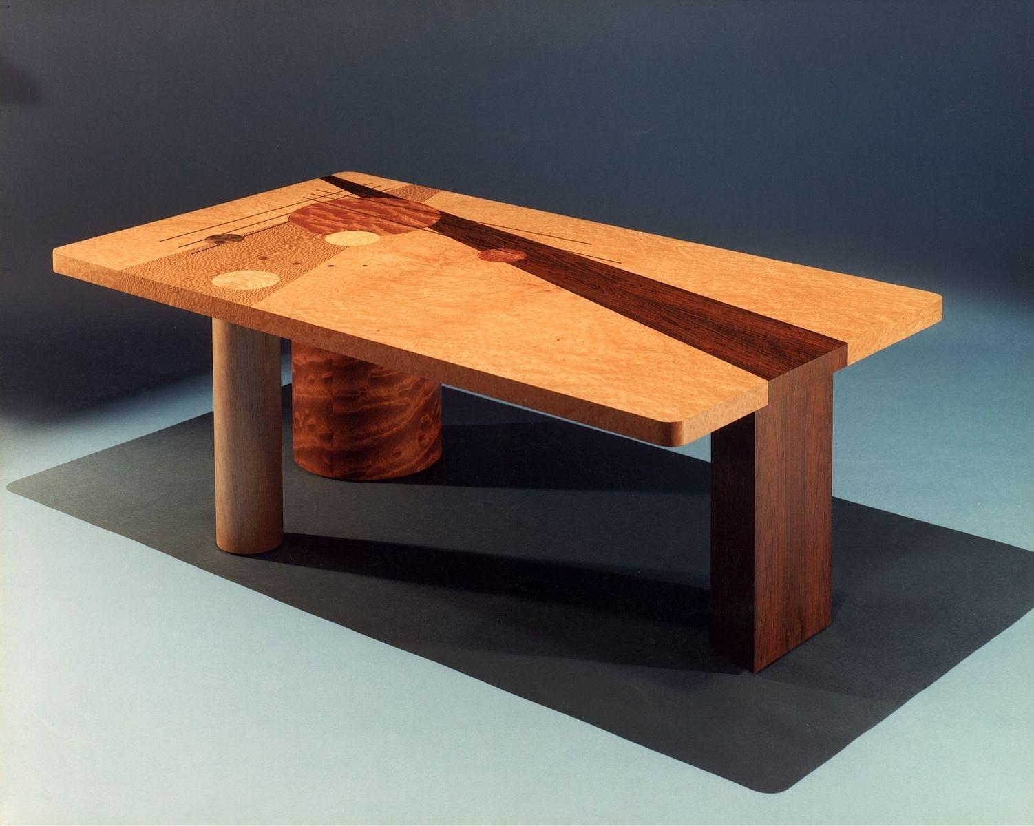 Custom Kandinsky Coffee Table By Boykin Pearce Associates