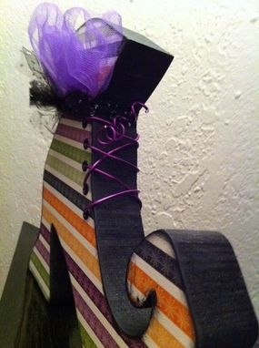 Custom Made Halloween--Witch Boot
