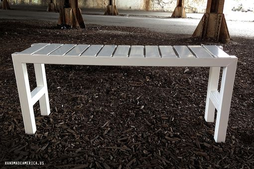 Custom Made Powder Coated Bench