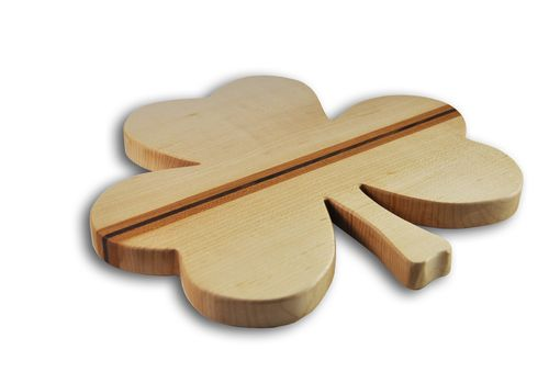 Custom Made Shamrock Cutting Board