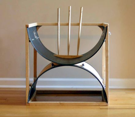 Hand Crafted Upcycled Drum Stick Furniture By Tim Sway