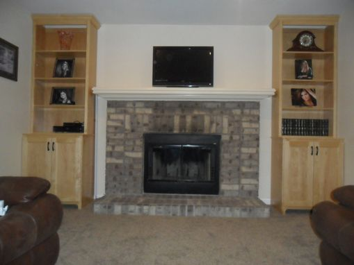 Custom Made Custom Cabinetry Bookshelves