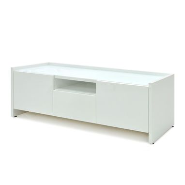 Custom Made Aspen Storage Credenza In High White Gloss