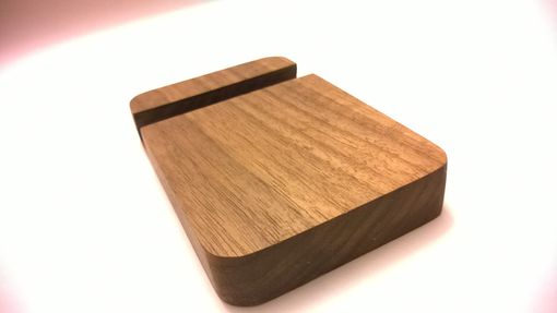 Custom Made Handcrafted Iphone Dock | Wooden Phone Dock Stand/Holder - Single Phone Or Tablet | Charging Station