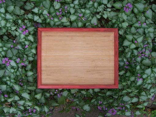 Custom Made Bamboo And Redheart Armoire Wardrobe Jewelry Watch Box