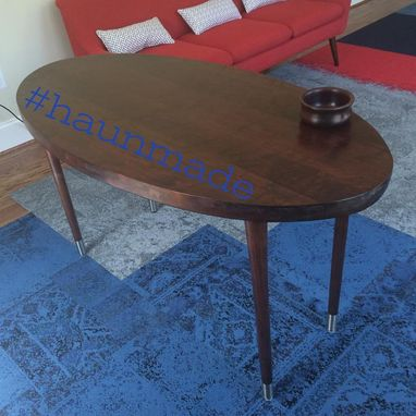 Custom Made Walnut Oval Desk