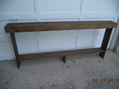 Custom Made Console Table, Sofa Table, Hallway Table