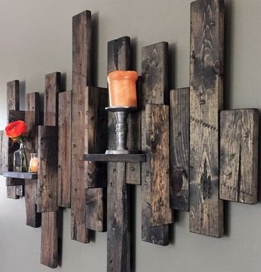 Custom Made Wall Mounted Candle Holder
