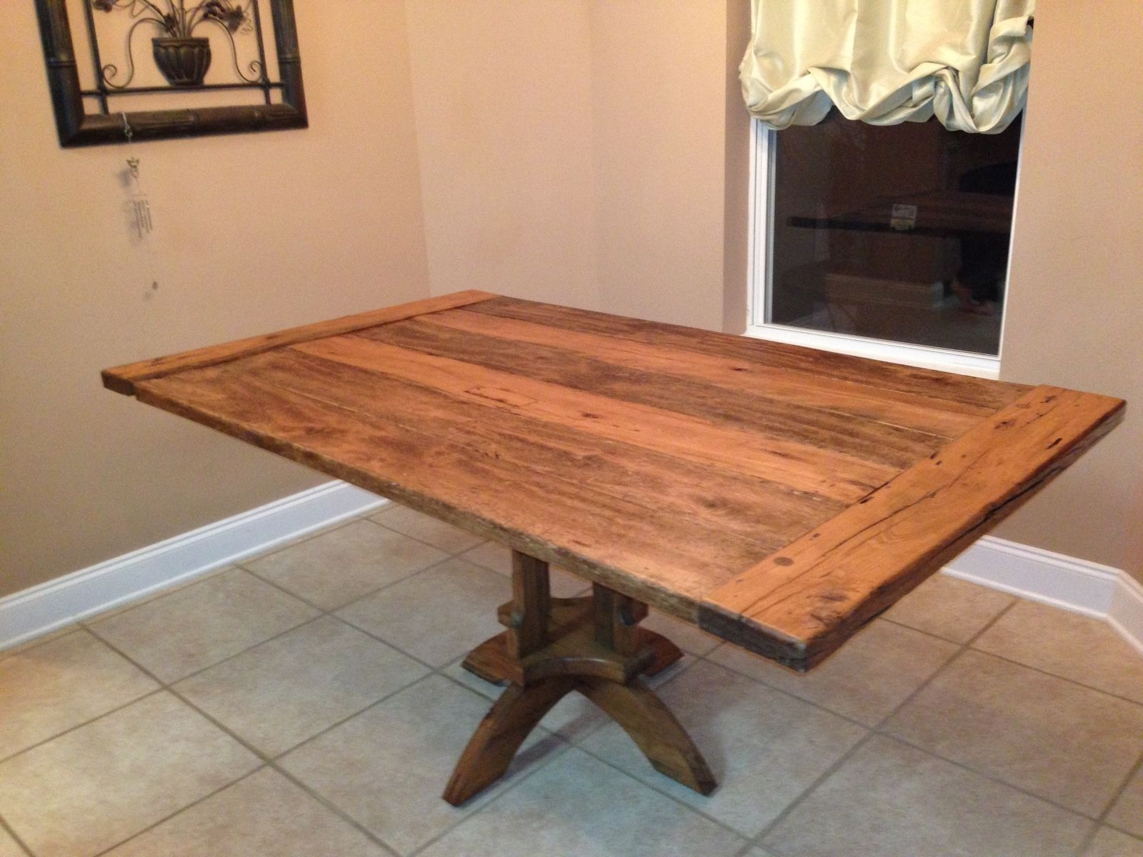 handmade kitchen table by vintage woodworks of navarre. Black Bedroom Furniture Sets. Home Design Ideas