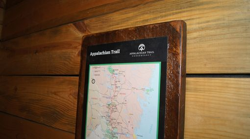 Custom Made Custom Appalachian Trail Map