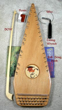 Custom Made Bowed Psaltery