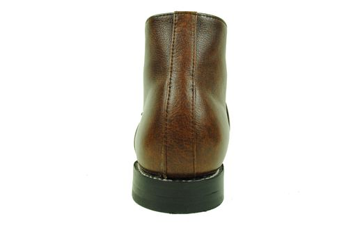 Custom Made Bukowski Reddish Brown Marbled Leather Goodyear Welt Monk Boots. (All Sizes)