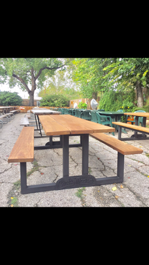 Custom Made The Madrid Picnic Table