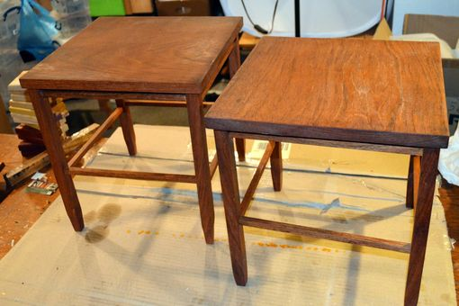 Custom Made Jatoba Stools