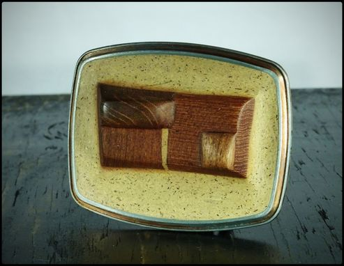 Custom Made (Clay) Belt Buckle