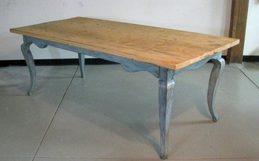 Custom Made Modern Style Reclaimed Dining Room Table