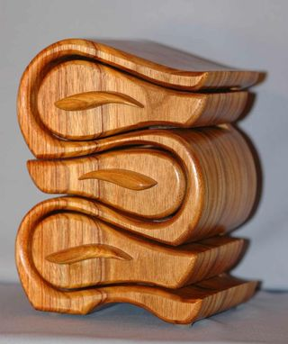 Custom Made Canary Wood Jewelry Boxes