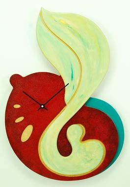 Custom Made Abstract Wall Clock